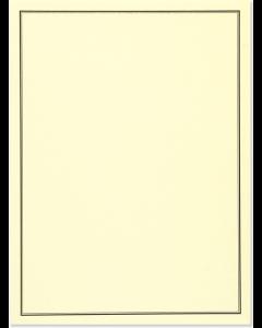 Black & Cream Writing Set