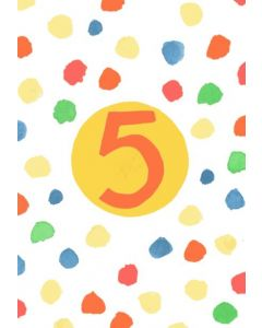 Age 5 - Neon 5 with spots