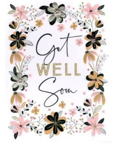 BIG card - Get Well Soon