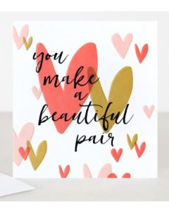 'You make a beautiful pair' - Hearts