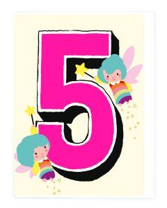 AGE 5 - Rainbow fairies
