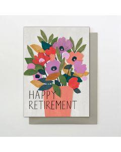 Retirement - Vase of flowers