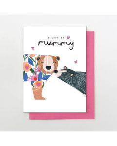 MUMMY Card - Lovely Bears