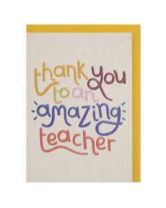 Thank you TEACHER - 'Amazing teacher'