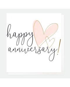Anniversary - Elegant Gold Hearts