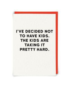 Greeting Card - Kids