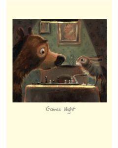 Greeting card - Games Night