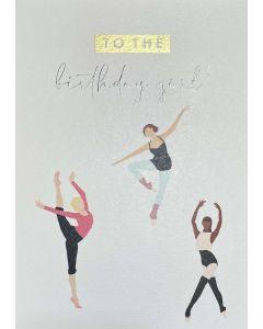 Birthday card - Ballet 'Birthday girl'
