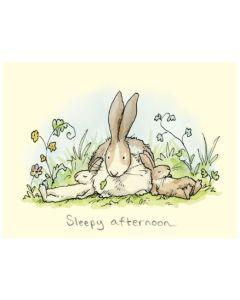 Greeting Card - Sleepy Afternoon