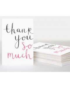 Thank You Cards - Elegant Script (10 cards)