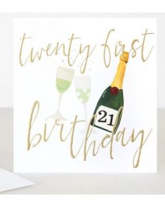 21st Birthday - Champagne
