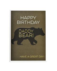 DADDY - Birthday 'Daddy Bear'
