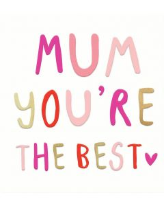 MUM Card - You're the Best