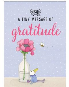 A tiny message of GRATITUDE - 3D in a box