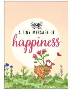 A tiny message of HAPPINESS - 3D in a box