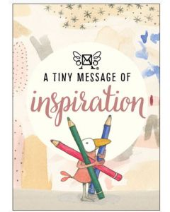 A tiny message of INSPIRATION - 3D in a box
