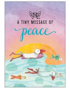 A tiny message of PEACE - 3D in a box