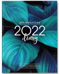 2022 DIARY - Blue Ferns (Hardcover)