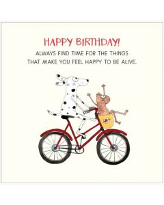 Birthday Card - Always find time...