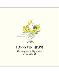 Birthday Card - Big Bunch of Sunshine