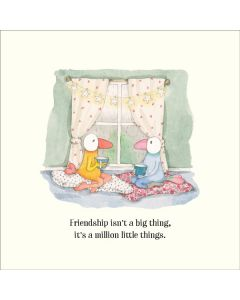 Greeting Card - FRIENDSHIP (A Million Little Things)