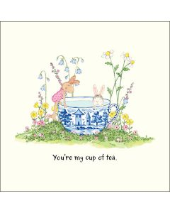 Greeting Card - You're my cup of tea