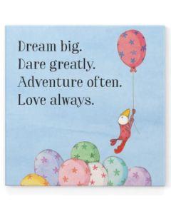 Magnet - 'Dream big. Dare greatly....'