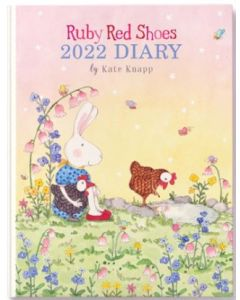 2022 DIARY - Ruby Red Shoes (Hardcover)