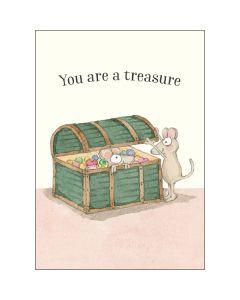 MINI Card - You Are a Treasure