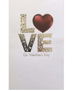 Valentine Card - LOVE is a Fairytale Come True