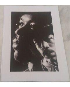 Music Legends frameable card - Jimi Hendrix