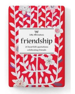 Friendship - Little box of heartfelt quotations celebrating friendship
