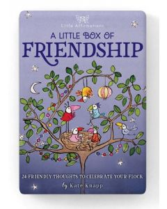 Friendship - 24 friendly Twigseed throughts to celebrate your flock