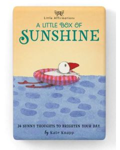 A little box of Sunshine - 24 sunny thoughts to brighten your day