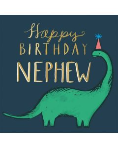 NEPHEW Card - Dinosaur
