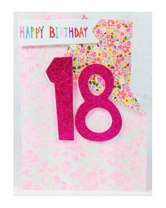 '18 Happy Birthday' Card