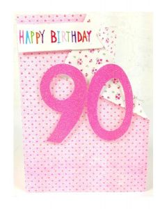 '90 Happy Birthday' Card