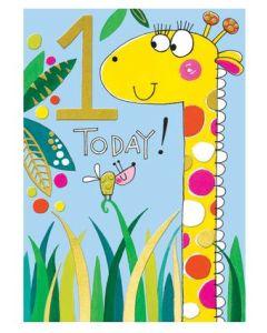 Age 1 Today - Giraffe