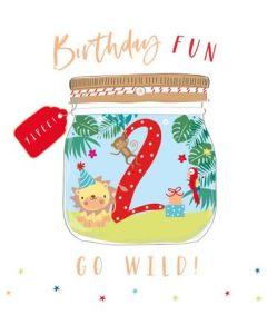 AGE 2 - 'Go Wild' Birthday jungle