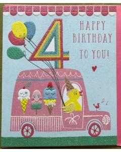 Age 4 - Icecream truck & balloons