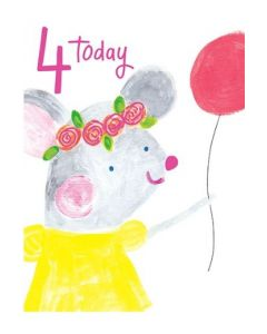 Age 4 - Mouse with balloon