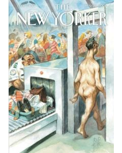 Airport Security - New Yorker Cover