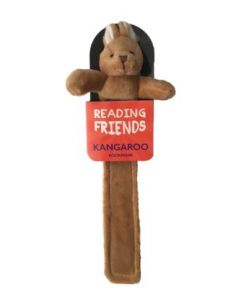 Kangaroo soft plush Bookmark