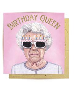 Birthday Card - Queen