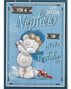 NEPHEW Card - Teddy & Toy Car