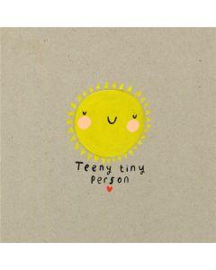 New BABY Card - Teeny Tiny Person