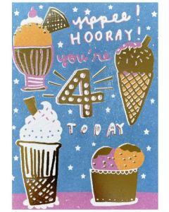 AGE 4 - Yippee Ice cream