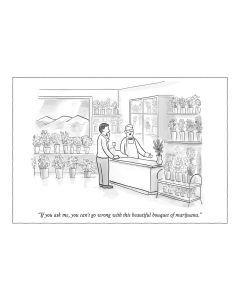The New Yorker - Marijuana Bouquet