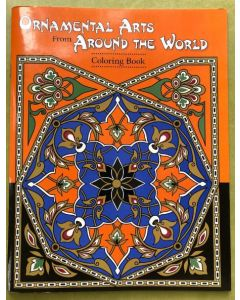 Colouring book - Ornamental Arts from Around the World