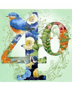 '40 Bird' Card
